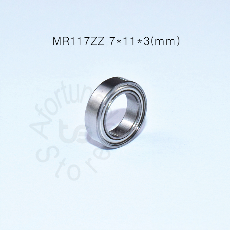 mr117zz-7-11-3-mm-10pieces-free-shipping-bearing-abec-5-metal-sealed-miniature-mini-bearing-mr117-mr117zz-chrome-steel-bearing
