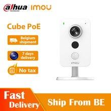 Dahua imou Cube POE 1080P caméra PIR détection Interface d'alarme externe détection sonore bidirectionnelle parler puissance sur caméra Ethernet