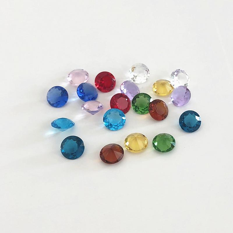 10pcs 10mm Translucent Pink Square Glass Beads