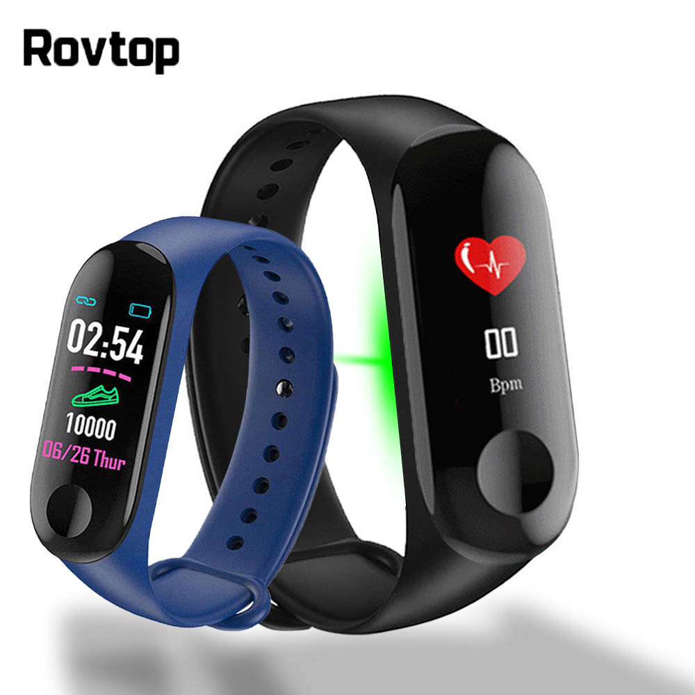 Activity Bracelet Fitness-Tracker Smart-Watch-Band M3plus Sport Heart-Rate