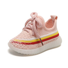 DIMI 2019 Autumn Baby Girl Boys Shoes Breathable Mesh Frst Walk Infant Shoes Casual Comfortable Soft Bottom Child Toddler Shoes(China)