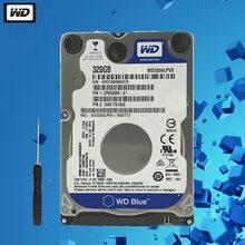 Wd 320gb disco rígido portátil disco rígido azul interno do computador hdd hd disco rígido sata ii 8mb cache 5400 rpm 2.5