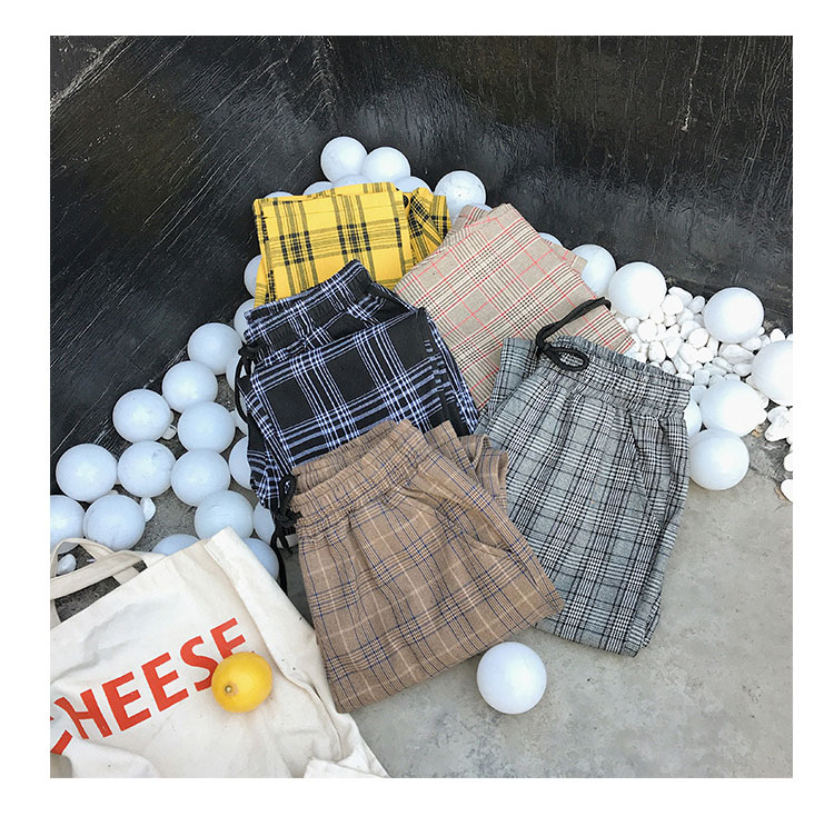 Privathinker Harajuku Plaid Pants For Women Trousers 2020 Streetwear Woman Harem Pants Autumn Ladies Causal Pants Plus Size 31
