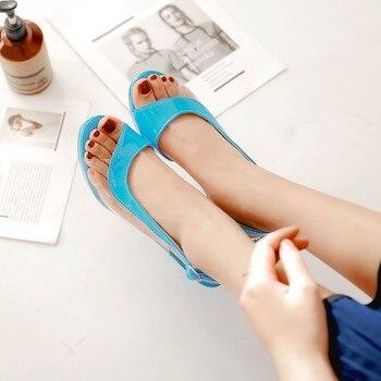 Zapatos de tacón alto de 26,5 cm para mujer, calzado grueso de...