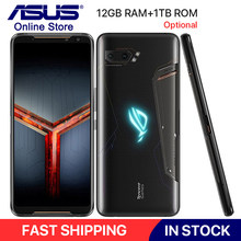 "Global ROM ASUS ROG โทรศัพท์ II ZS660KL 6.59 ""12GB RAM 1TB ROM Snapdragon 855 PLUS 6000mAh 48MP NFC Android 9.0 ROG เกมโทรศัพท์ 2(China)"