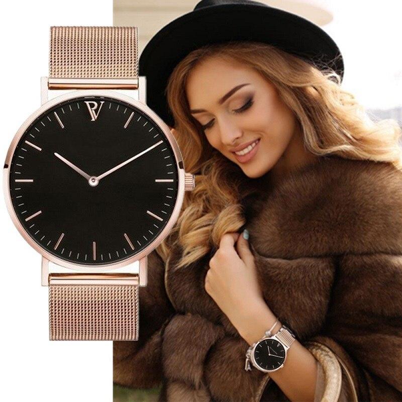Fashion Casual Simple Women Watch Analog Quartz Wrist Watch Relogio Feminino Womens Watches Female Ladies Clock Reloj Mujer