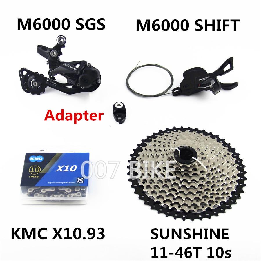 SLX M670 Double Groupset 175MM SHIMANO SLX M670 2x10 Speed MTB Groupset 7 pcs