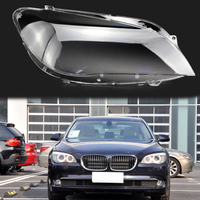 lens lampshade shell for bmw 7 series 730 735 740 745 750 760 2009 2015 Front headlight transparent housing Headlight cover
