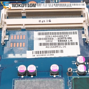 Image 4 - NOKOTION K000083120 K000083110 KSWAA LA 4981P For Toshiba Satellite L500 L505 Laptop motherboard HD GMA DDR2 only free cpu