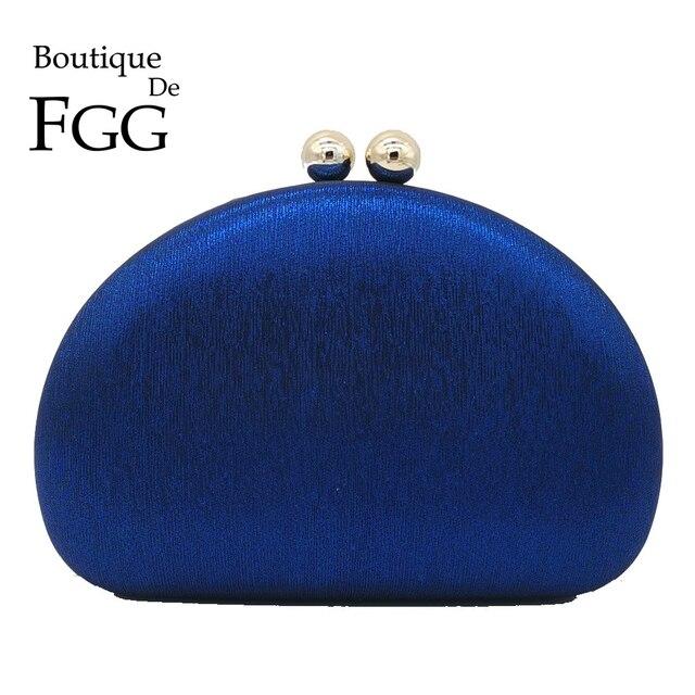 $ US $18.99 Boutique De FGG Causal Women Clutches Evening Bags Hard Case Ladies Chain Shoulder Purses and Handbags Gala Dinner Clutch Bag