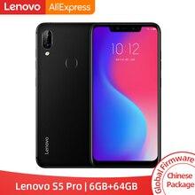 Смартфон lenovo S5 Pro с глобальной прошивкой, 6 ГБ, 64 ГБ, Восьмиядерный процессор Snapdragon 636, Quad Camera, 6,2 дюйма, 4G, LTE