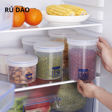 Can be used in the kitchen to store dry goods cream and other sealed food moisture-proof bottle food grade transparent tank