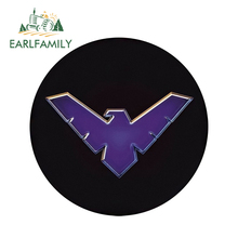 EARLFAMILY 13cm x Cool Car Styling SHIELD logo Stickers Window Bumper Laptop Rear Windshield Waterproof Vinyl Decal