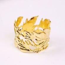 4 шт/металлическое кольцо для салфеток в европейском стиле украшение