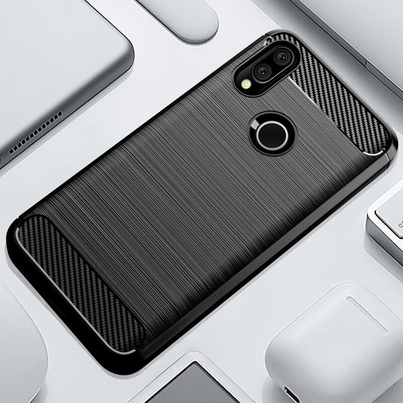 Case For Redmi Note 9 8 7 Pro Soft TPU Cover Ultra Slim Brushed Cases For Xiaomi Redmi 8 7 6 6A 7A 8A Note 9S 9 8 7 6 5 Pro Case