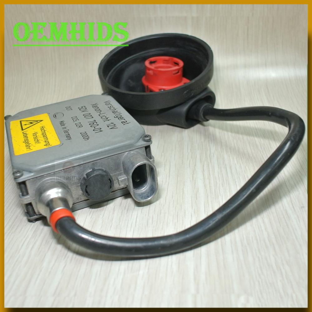 99-01 BMW 7 Series Xenon Headlight Control Ballast 5DV 007 760-01