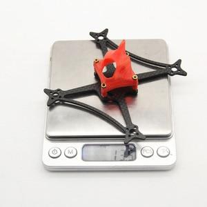Зубочистка 100 мм 115 мм 2,5 дюйма 3 дюйма Комплект рамы ABS углеродное волокно для радиоуправляемого дрона FPV Racing BetaFPV Cine WOOP 65 мм Пропеллер
