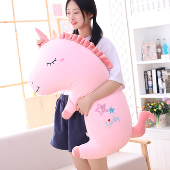 New Cute Unicorn Plush Toy Baby Unicorn Three-in-one Pillows Doll Animal Stuffed Plush Soft Toy Birthday Gifts For Children Gift new hot cute penguin stuffe plush doll cosplay unicorn toy baby soft animal penguin pillow children girl birthday christmas gift