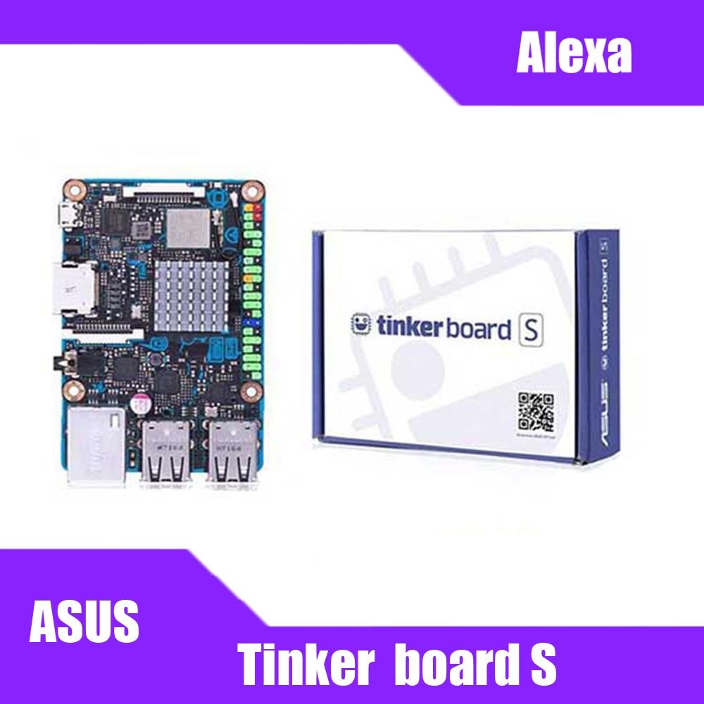 ASUS SBC Tinker board S RK3288 SoC 1.8GHz Quad Core CPU, 600MHz Mali-T764 GPU 2GB LPDDR3 & 16GB eMMC TinkerboardS