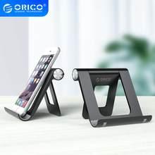 Orico support de téléphone portable support de téléphone de bureau support de bureau réglable pour iPhone Xiaomi téléphone cellulaire pour ipad tablette