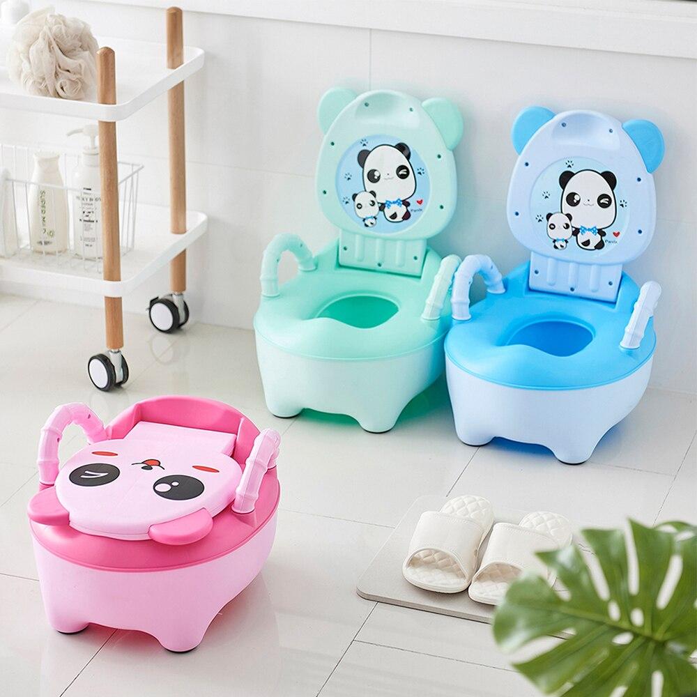 3 Color Portable Lovely Safety Panda Children Baby Potty Training Boys Girls Toilet Seat Potty Infants Toddler Child Pot