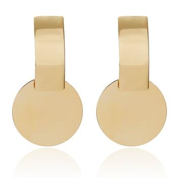 2019 Promotion Pendientes Aretes Fashion Statement Earrings Big Geometric For Women Hanging Dangle Drop Earing Modern Jewelry 4