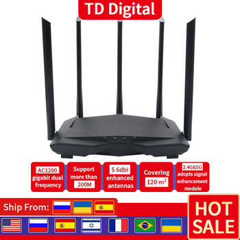 FSD GC11 AC1200M Wireless WiFi Router with 2.4G/5.0G High Gain Antenna router Wifi Dual Band Wireless Router,App Control - DISCOUNT ITEM  49 OFF Computer & Office