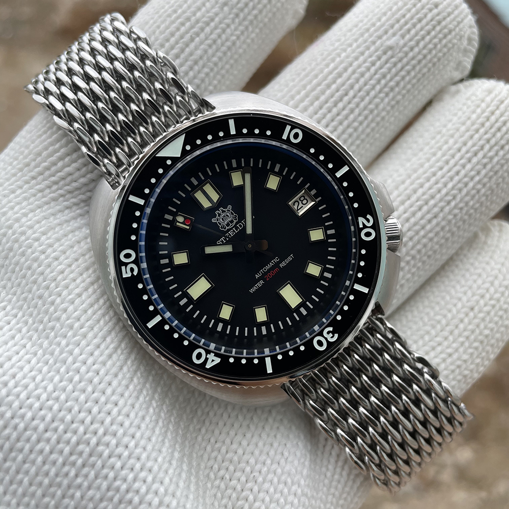 H1d4a5187e65646e39a25172f22f5299db SD1970 Steeldive Brand 44MM Men NH35 Dive Watch with Ceramic Bezel