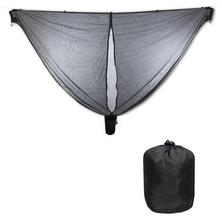 Hamaca de paracaídas de nailon portátil, mosquitera para acampada, supervivencia, jardín, caza, hamaca de ocio, viaje, persona doble Hamak