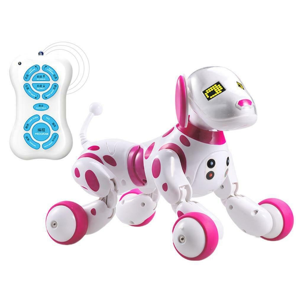 Sing Dance Smart Wireless Interactive Electronic Pet Toy Children Led Educational Intelligent Talking Birthday Gift RC Robot Dog