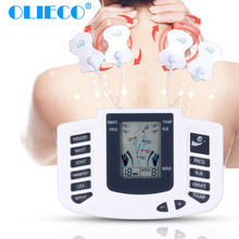 Therapy-Machine Massage English-Tens Electric Stimulator-Feet Muscle-Relax OLIECO Russian