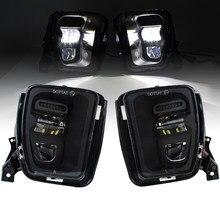 Lâmpadas de nevoeiro led 48w luz auxiliar substituição para dodge ram 1500 captador 2013 2014 2015 2016 2017 2018