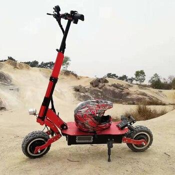 Patinete eléctrico potente para adulto, Scooter Eléctrico de 90 KM/H, 60V, 3200W, con batería de 135km