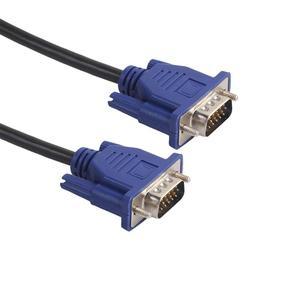 Image 2 - 1,5 m/3m/5m VGA Verlängerung Kabel HD 15 Pin Stecker auf Stecker VGA Kabel Kabel draht Linie Kupfer Core für PC Computer Monitor Projektor