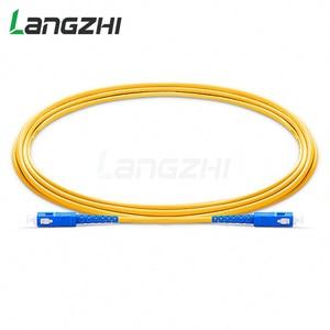 Image 5 - 10 шт. SC UPC to SC UPC Simplex 2,0 мм 3,0 мм ПВХ одномодовый волоконный патч кабель Соединительный волоконный патч корд Fibra Optica Ftth