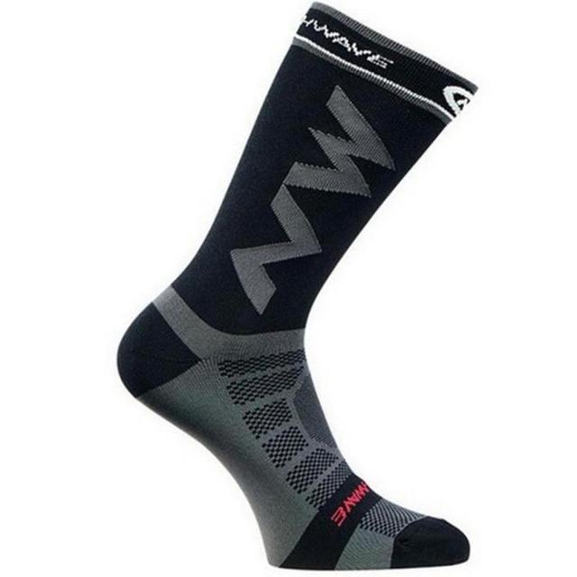 Meias esportivas para corrida e ciclismo, 1 par de meias respiráveis para homens e mulheres, escalada, acampamento, futebol, basquete 6