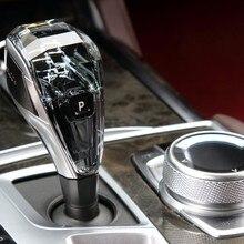 Pour 8 série G14 cristal bouton de vitesse universel changement de vitesse cristal accessoires pièces manuel manette de vitesse