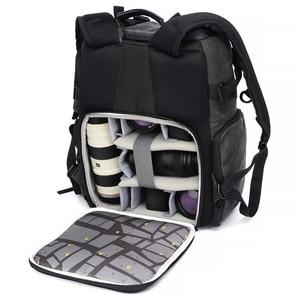 Image 4 - National Geographic Ng W5072 Lederen Camera Bag Rugzakken Grote Capaciteit Laptop Draagtas Voor Digitale Video Camera Reistas