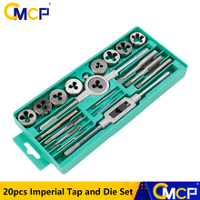 Tap Die Wrench-Set Hand-Tapping-Tools Imperial-Tap Screw-Thread 20pcs CMCP
