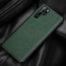 Чехол из натуральной кожи для Huawei P30 Pro, прочный чехол накладка, чехол для Huawei P30 P30Pro, Защитный корпус