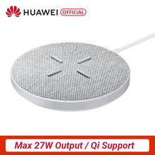 Original HUAWEI Aufzurüsten Drahtlose Ladegerät Max 27W Unterstützung Für Android IOS Drahtlose QI Unterstützung