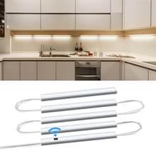 Smart Led Küche Licht Serie Verbindung 5 Bar Lichter Hand Sweep Nacht Lampe Schrank Schrank Bett Zimmer Motion Sensor Beleuchtung