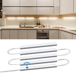 Inteligente led luz da cozinha série conexão 5 luzes barra mão varredura noite lâmpada armário cama quartos sensor de movimento iluminação