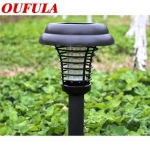 Oufula Солнечный москитный убийца светильник два лужайка открытый