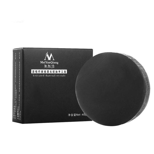 Natural Bamboo Charcoal Soap Clean Whitening Soap Blackhead Remover Acne Treatment Oil Control Soaps Skin Care Treatment