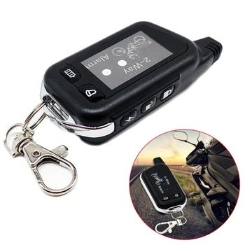 2 Way Anti-theft systemy alarmowe Alarm ostrzegawczy z pilot zdalnego sterowania do motocykla ochrona przed kradzieżą tanie i dobre opinie CN (pochodzenie) NONE Alert bezpieczeństwa Specjalne części urządzenia zabezpieczającego przed kradzieżą