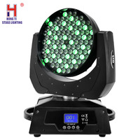Led Moving Head Wash Zoom Led 108x3W RGBW Stage Effect Lighting For Professional Dj Live Music Equipment