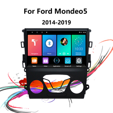 Eastereggs Car Radio For Ford Mondeo5 2014 2019 9 Inch 2 Din Android WIFI GPS Navigation DVR FM AM Bluetooth 2USB Car Multimedia