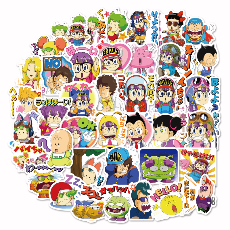 40Pcs Cute Label Japanese Anime Stickers Diary Handmade Adhesive Paper Flake Sticker Scrapbooking Pegatinas Stationery Stickers