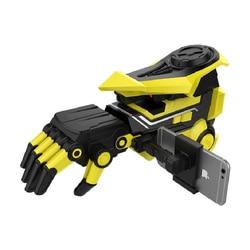Smart APP Wasser Kugel Kontinuierliche starten Bumblebee Roboter Manipulator Arm Kampf kinder spielzeug Pistolen Weichen Kugel Geschenke für Jungen